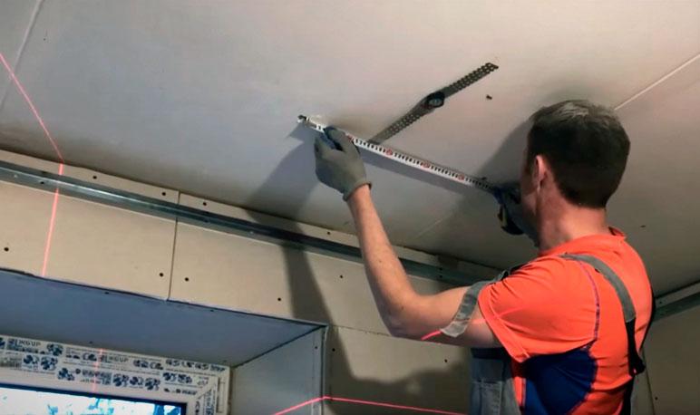 монтаж каркасной звукоизоляции потолка в квартире современными материалами