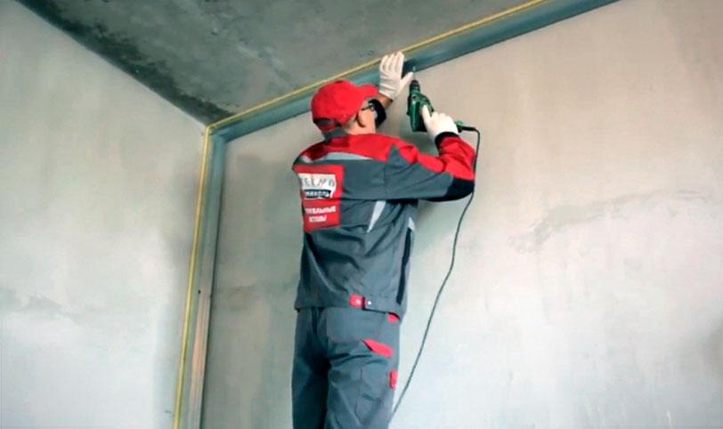 монтаж каркасной звукоизоляции стен в квартире современными материалами