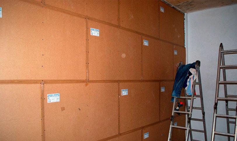 неправильная звукоизоляция стен кварцевыми панелями