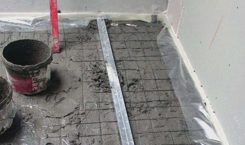 армирование цементной стяжки